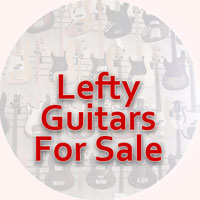 Left handed guitars for sale