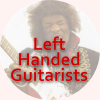 Left handed guitarists